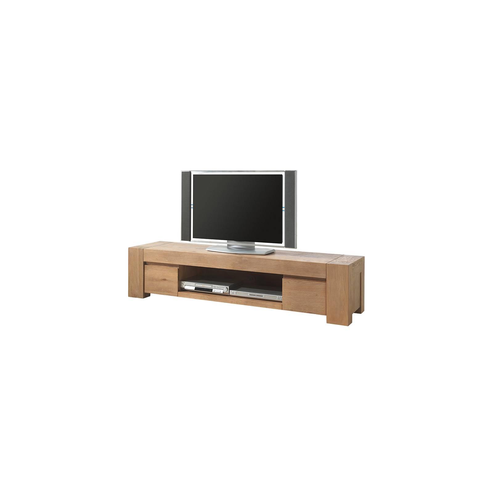 Meuble Tv Zeus Chêne - meuble haut de gamme
