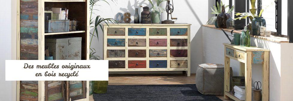 meuble en bois recycl meuble en bois recycl with meuble en bois recycl latest meuble de. Black Bedroom Furniture Sets. Home Design Ideas