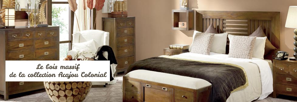 blog d co meuble style colonial. Black Bedroom Furniture Sets. Home Design Ideas