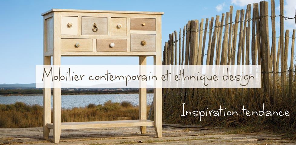 Achat de meubles en bois massif avec Planète Cocoon.
