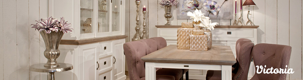 Meubles au style shabby chic - Pin Victoria